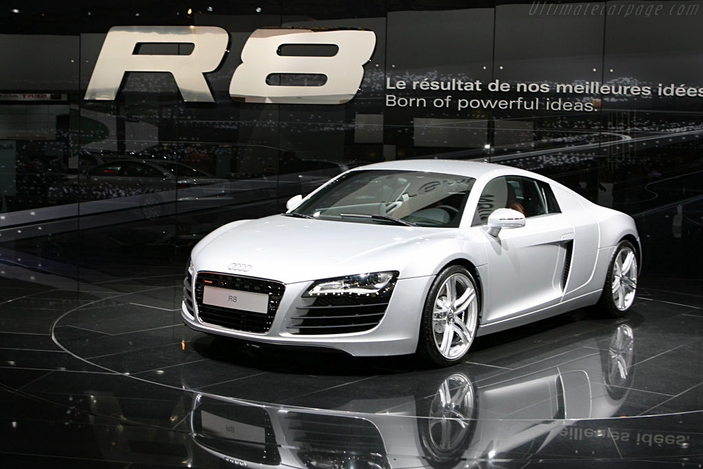 Lotus Sports Car >> 2006 - 2012 Audi R8 - Images, Specifications and Information