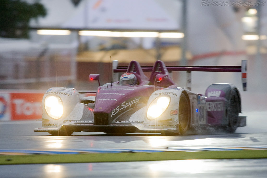 Porsche RS Spyder Evo - Chassis: 9R6 708   - 2008 24 Hours of Le Mans