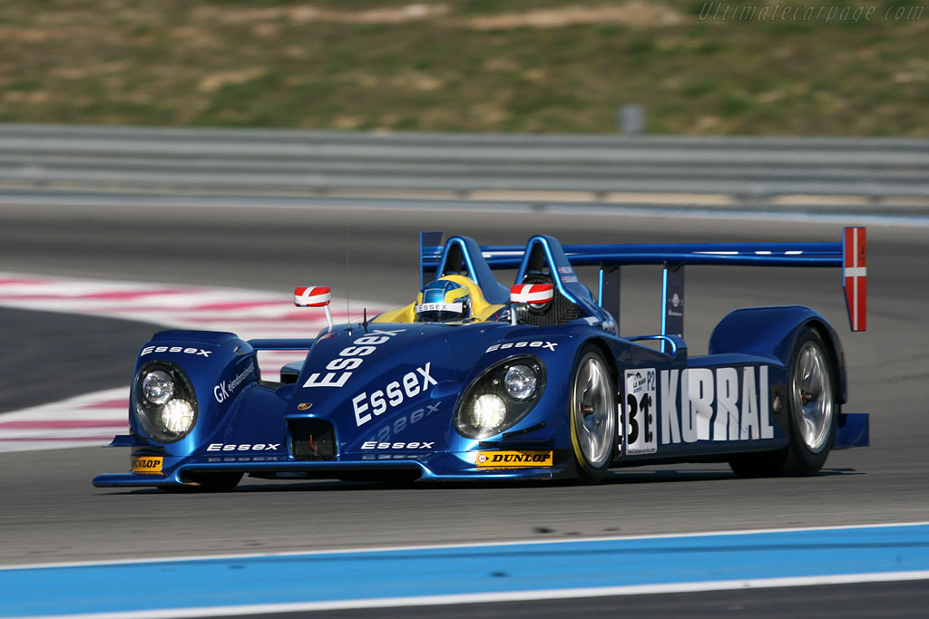 Porsche RS Spyder Evo - Chassis: 9R6 709   - 2008 Le Mans Series Preview