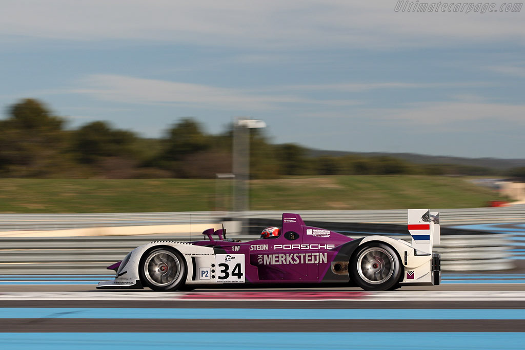 Porsche RS Spyder Evo - Chassis: 9R6 708   - 2008 Le Mans Series Preview