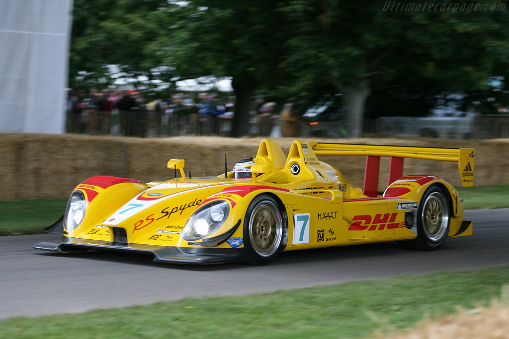 Porsche Rs Spyder Evo Chassis 9r6 701 2007 Goodwood