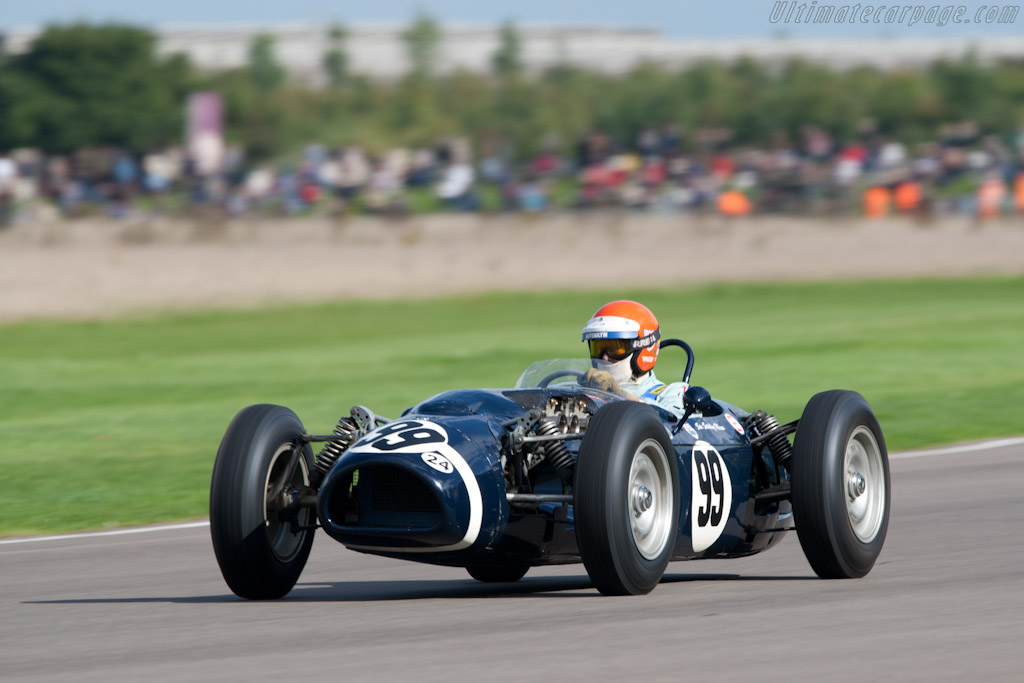 Ferguson P99 Climax - Chassis: P99-01 - Driver: Barrie Williams  - 2010 Goodwood Revival