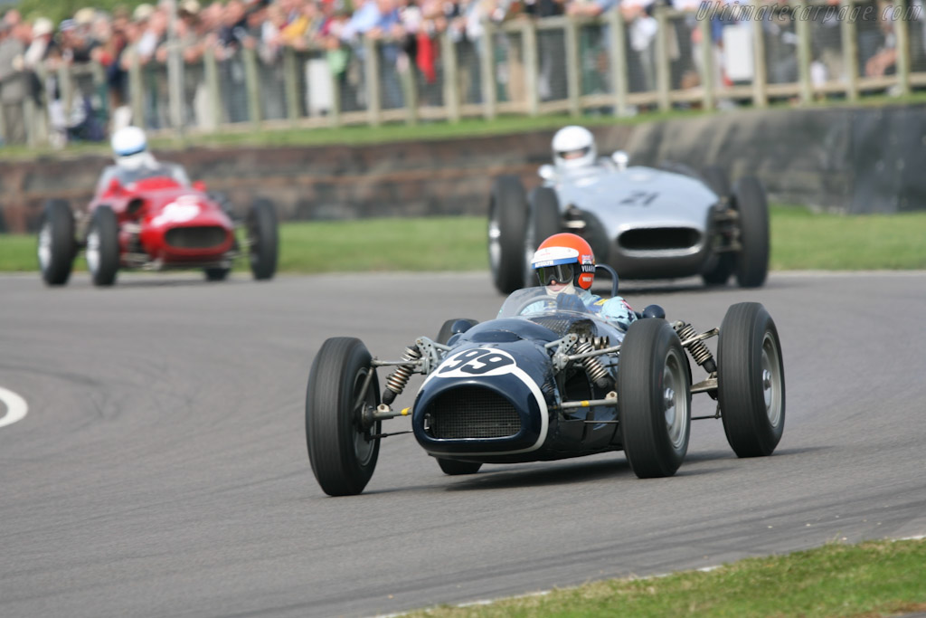 Ferguson P99 Climax - Chassis: P99-01 - Driver: Barrie Williams  - 2007 Goodwood Revival