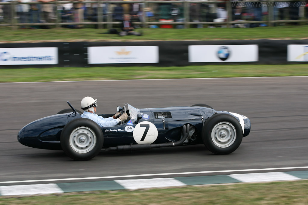 Ferguson P99 Climax - Chassis: P99-01 - Driver: Stirling Moss  - 2006 Goodwood Revival