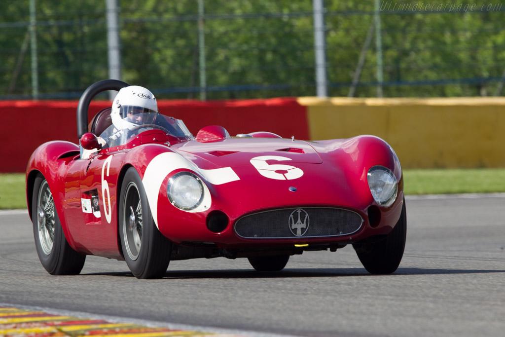 Maserati 300S - Chassis: 3059   - 2013 Spa Classic