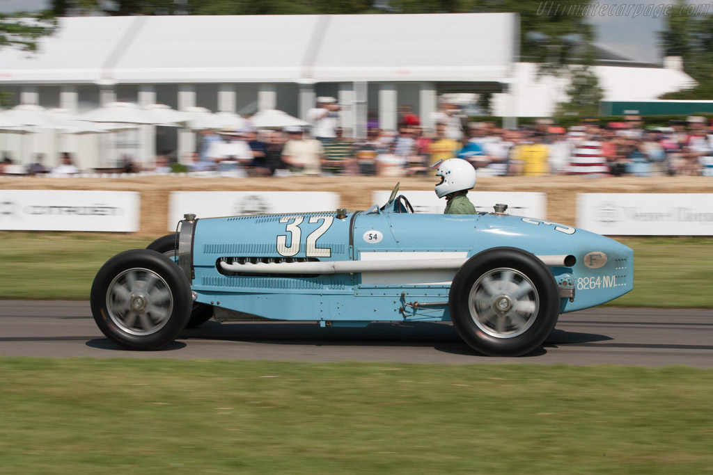 Bugatti Type 54 Grand Prix - Chassis: 54210   - 2011 Goodwood Festival of Speed
