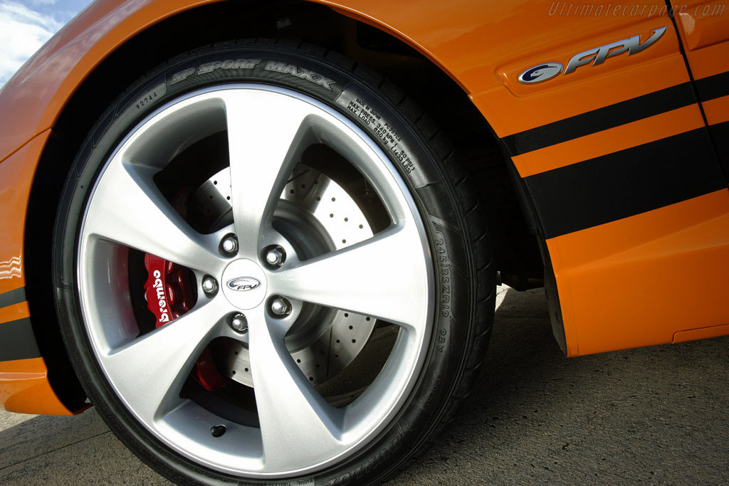 Ford BF Falcon MkII FPV GT