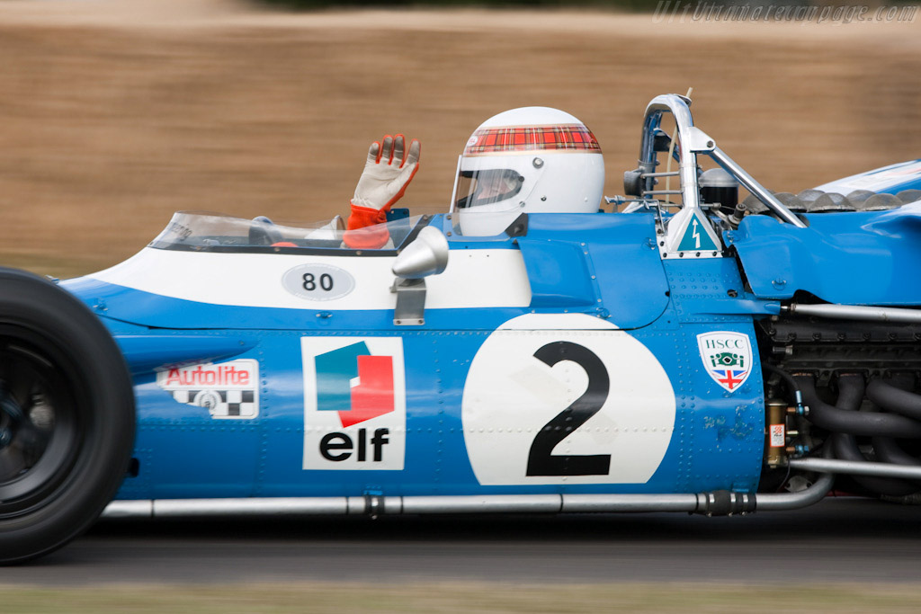 Matra MS80 Cosworth - Chassis: MS80/02 - Driver: Jackie Stewart  - 2009 Goodwood Festival of Speed