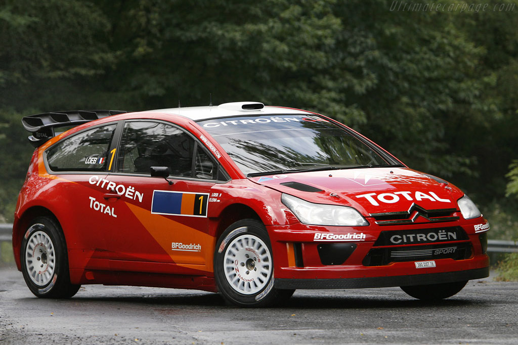 Click here to open the Citroën C4 WRC gallery