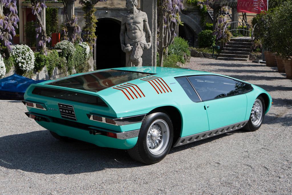 Bizzarrini Manta - Chassis: P538 - 003   - 2008 Concorso d'Eleganza Villa d'Este
