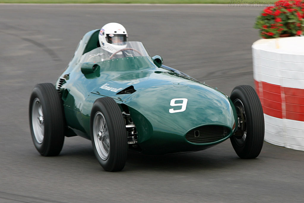 Vanwall VW Grand Prix - Chassis: VW11 - Driver: Brian Redman  - 2006 Goodwood Revival