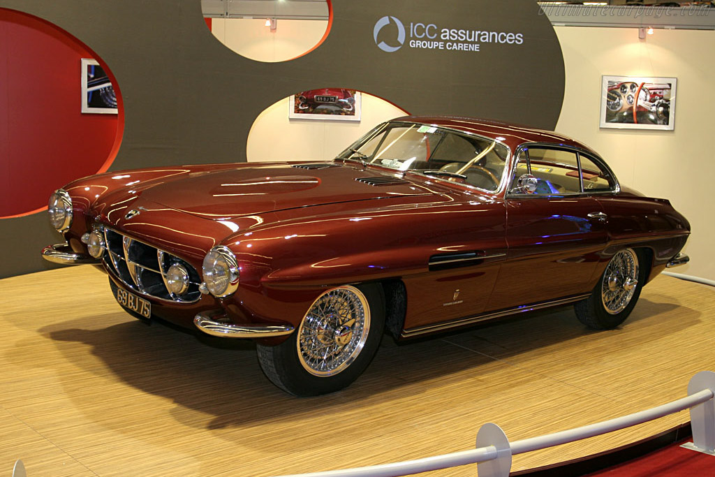 Click here to open the Jaguar XK120 Ghia Supersonic Coupe gallery