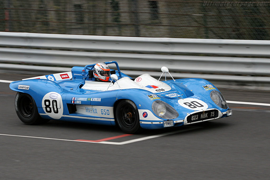 Matra MS650 - Chassis: MS650/02   - 2005 Le Mans Endurance Series Spa 1000 km