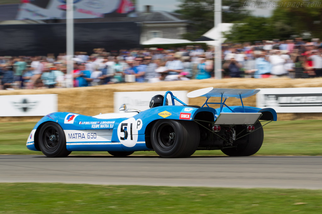 Matra MS650 - Chassis: MS650/01   - 2015 Goodwood Festival of Speed