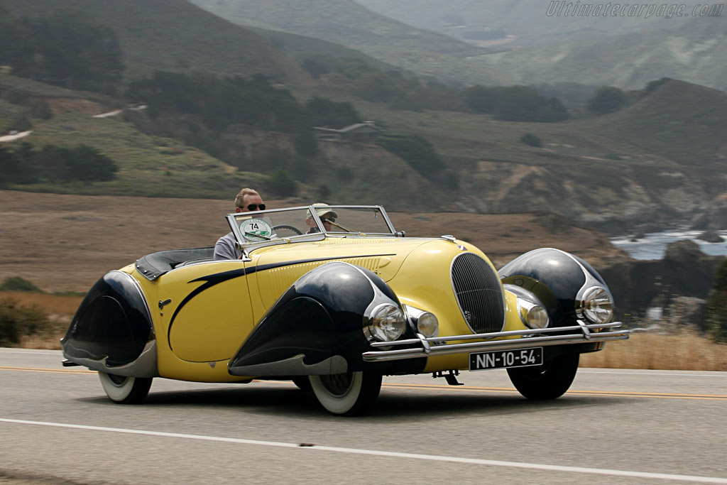 Click here to open the Talbot Lago T150C S Figoni & Falaschi Torpedo Cabriolet gallery