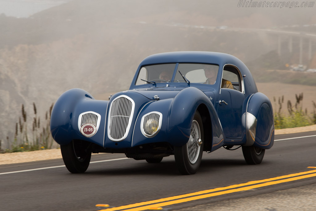Click here to open the Talbot Lago T150C SS Pourtout Coupe gallery