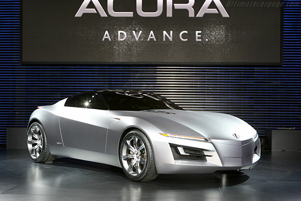Click here to open the Acura Advanced Sports Car Concept gallery