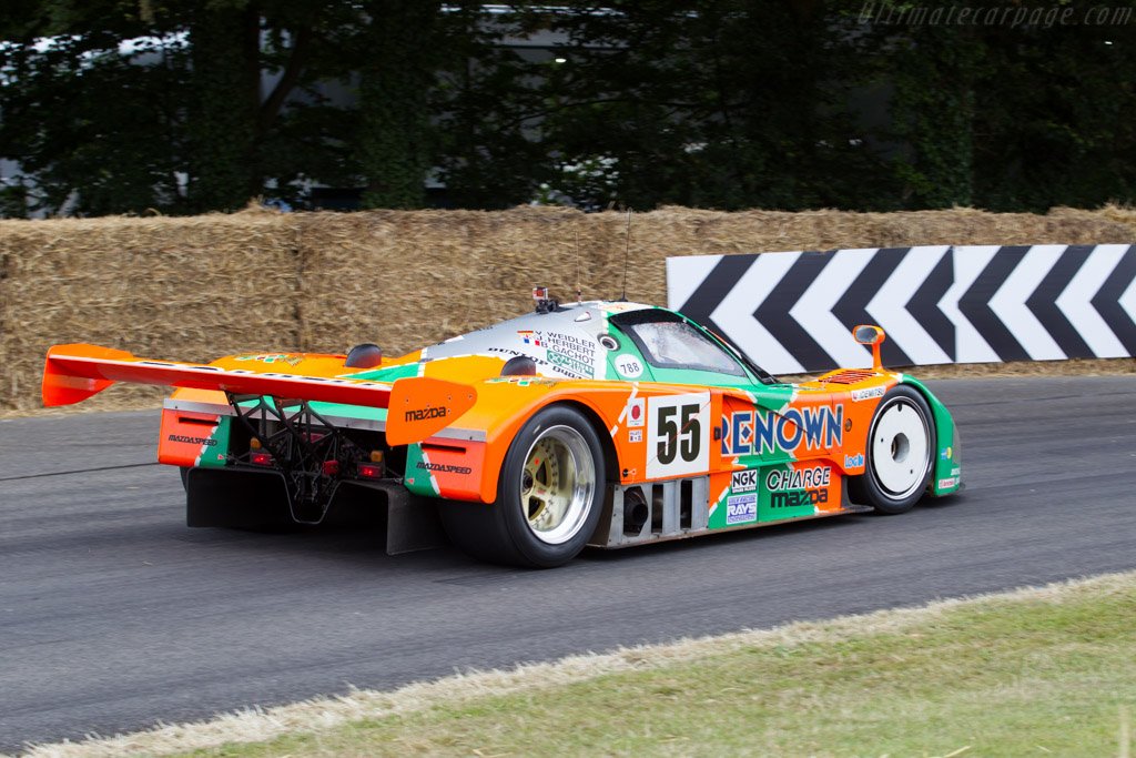 Mazda 787B - Chassis: 787B - 002   - 2015 Goodwood Festival of Speed