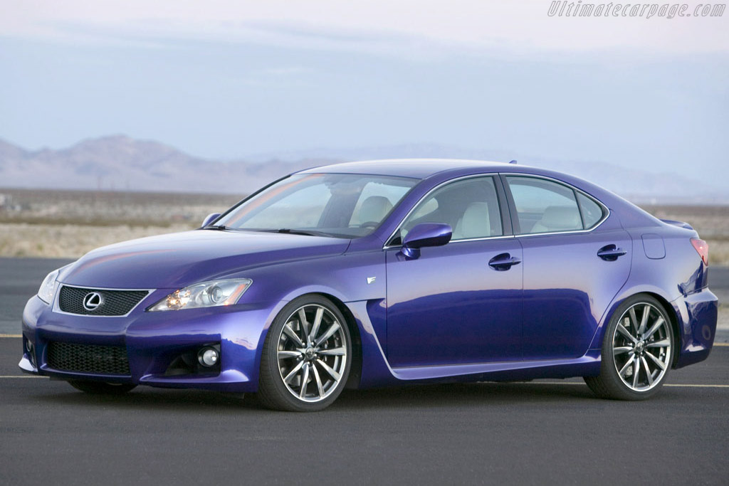 Click here to open the Lexus IS-F gallery