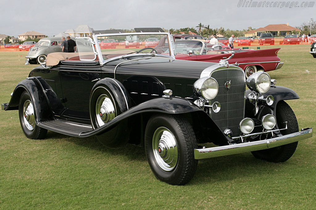 1932 Cadillac 452 B V16 Fisher Convertible Coupe Images