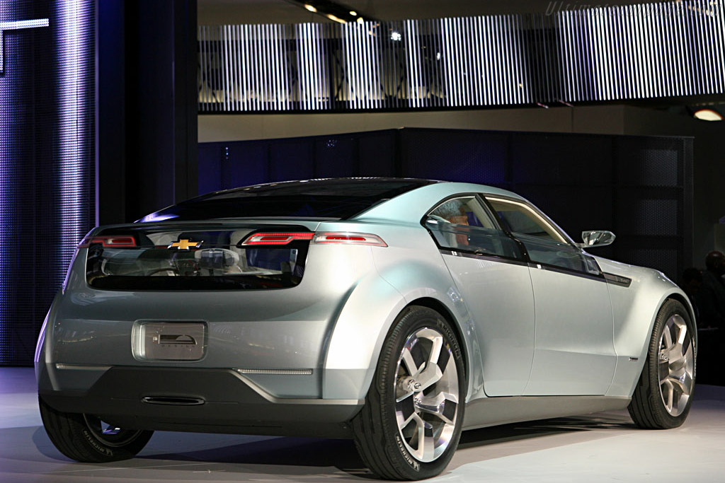 Chevrolet Volt Concept    - 2007 North American International Auto Show (NAIAS)
