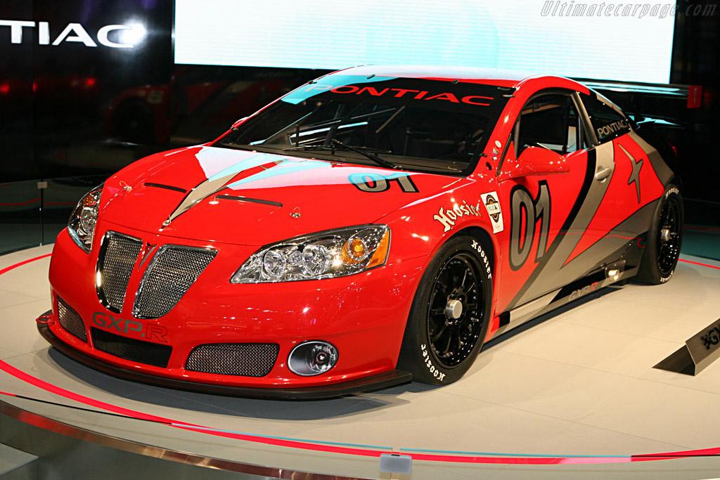 Pontiac G6 GXP.R    - 2007 North American International Auto Show (NAIAS)
