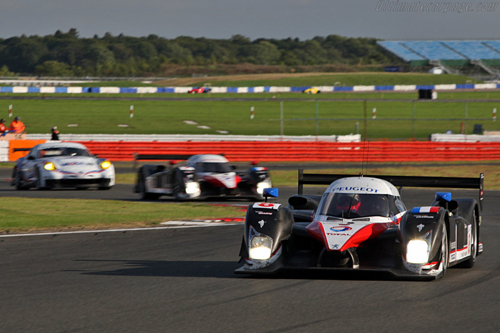 Peugeot 908 HDi FAP - Chassis: 908-03   - 2007 Le Mans Series Silverstone 1000 km
