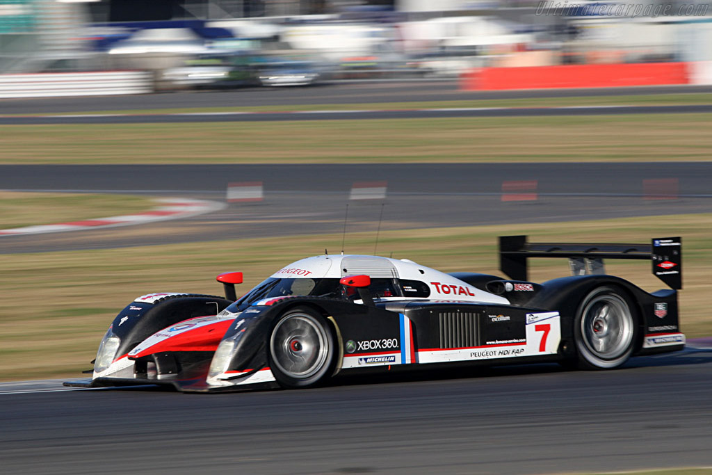 Peugeot 908 HDi FAP - Chassis: 908-02   - 2007 Le Mans Series Silverstone 1000 km