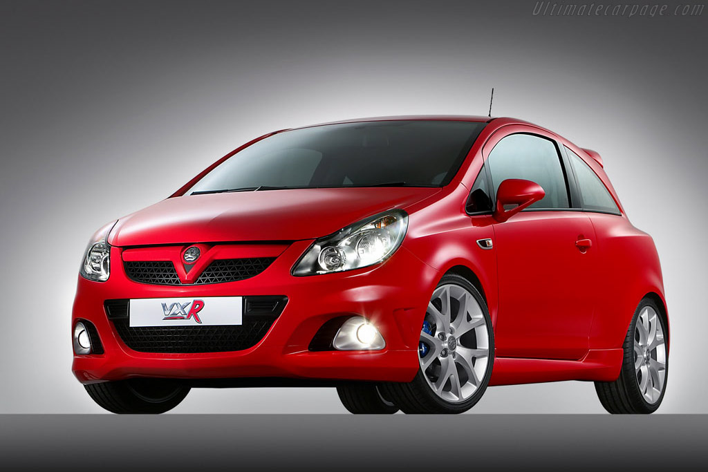 Click here to open the Vauxhall Corsa VXR gallery