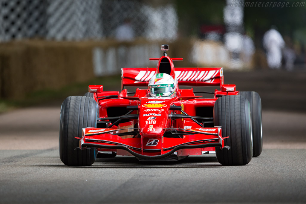 Ferrari F2007 - Chassis: 263  - 2017 Goodwood Festival of Speed