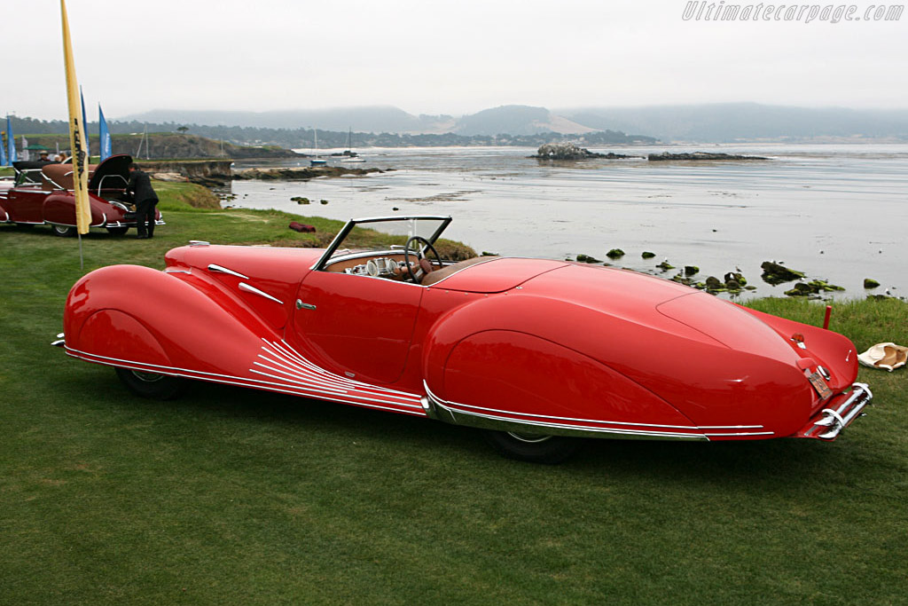 Delahaye 135 M Figoni & Falaschi Narval Cabriolet - Chassis: 800543   - 2006 Pebble Beach Concours d'Elegance
