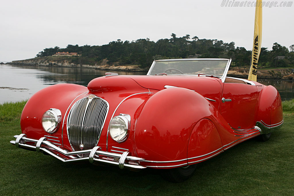 Delahaye 135 M Figoni & Falaschi Narval Cabriolet - Chassis: 800543   - 2006 Pebble Beach Concours d'Elegance