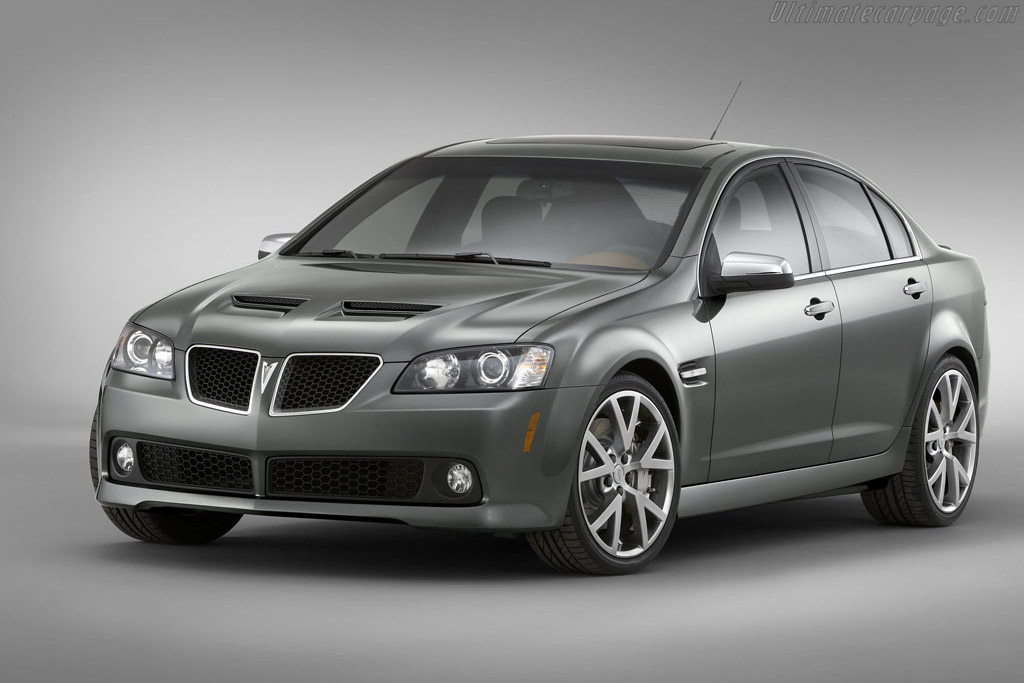 Click here to open the Pontiac G8 GT gallery