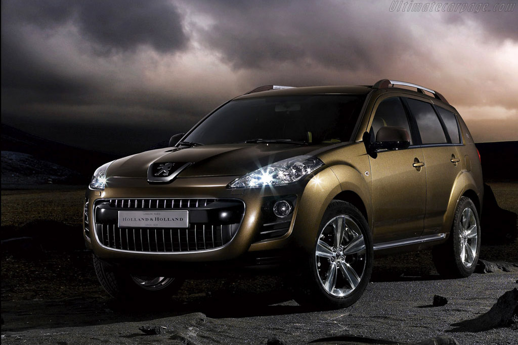 Click here to open the Peugeot 4007 Holland&Holland Concept gallery