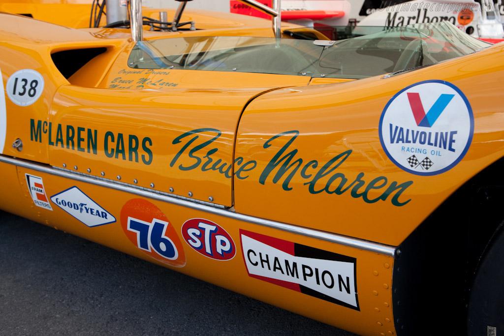 McLaren M6A Chevrolet - Chassis: M6A/1   - 2011 Monterey Motorsports Reunion