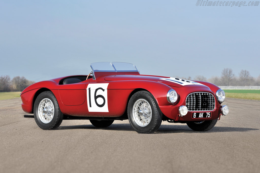 Click here to open the Ferrari 340 America Touring Barchetta gallery