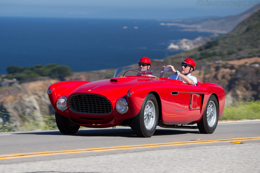 Click here to open the Ferrari 340 Mexico Vignale Spyder gallery