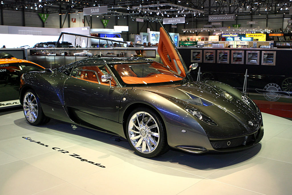 2007 Spyker C12 Zagato Coupe Images Specifications And Information