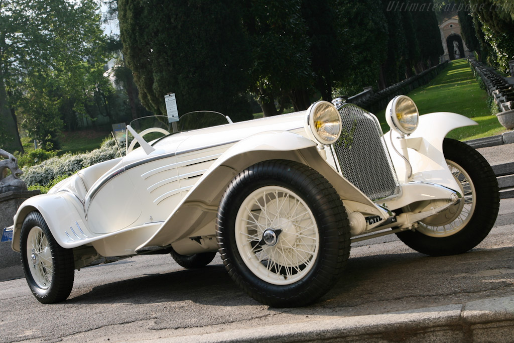 1931 Alfa Romeo 6c 1750 Gs Touring Flying Star Spider