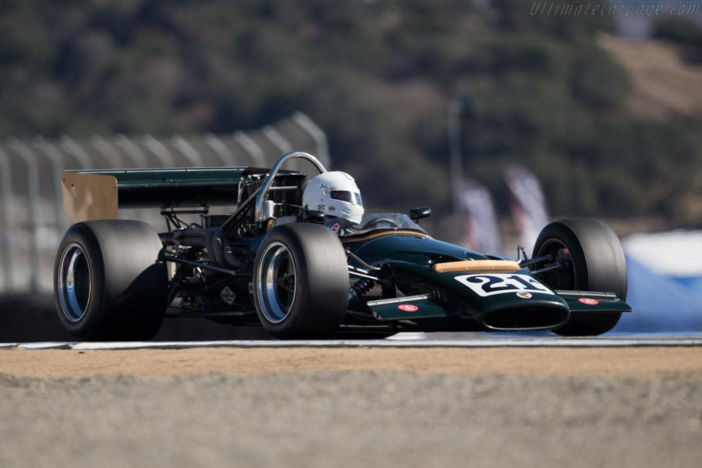 McLaren M10B Chevrolet - Chassis: 400-04  - 2015 Monterey Motorsports Reunion