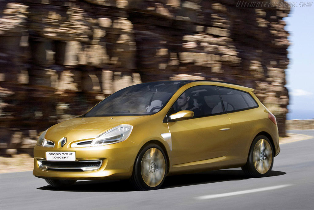 Click here to open the Renault Clio Grand Tour Concept gallery