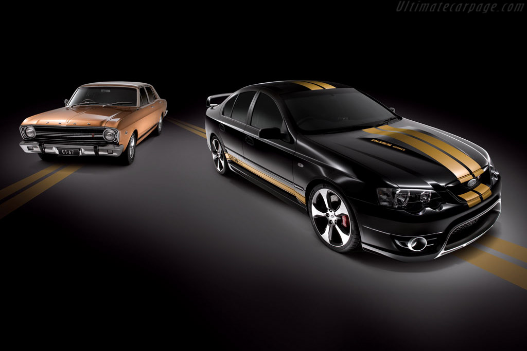 Click here to open the Ford BF MkII Falcon FPV GT 40th Anniversary gallery