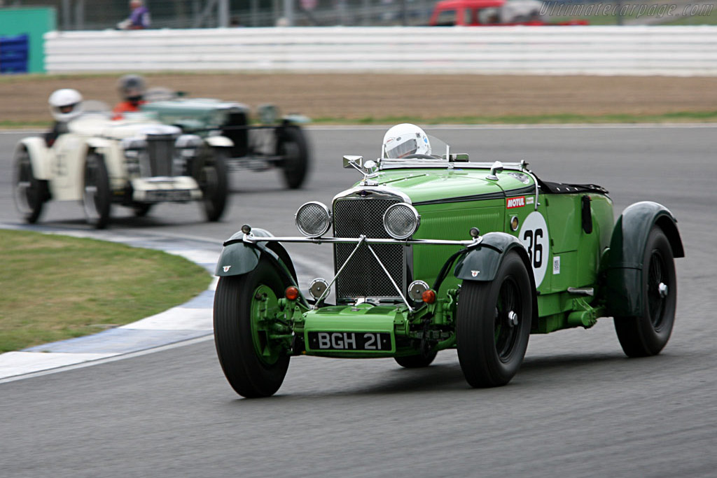 Talbot 105 Brooklands Tourer - Chassis: 38704   - 2006 Silverstone Classic