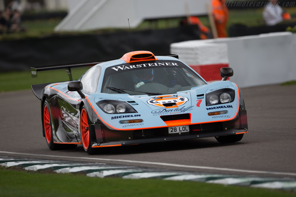 McLaren F1 GTR Longtail - Chassis: 28R - Driver: Lionel Robert  - 2017 Goodwood Members' Meeting