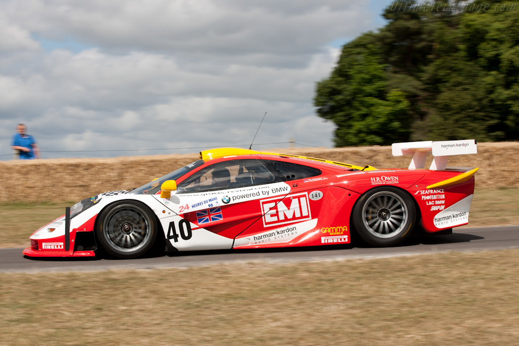 McLaren F1 GTR Longtail - Chassis: 24R   - 2010 Goodwood Festival of Speed