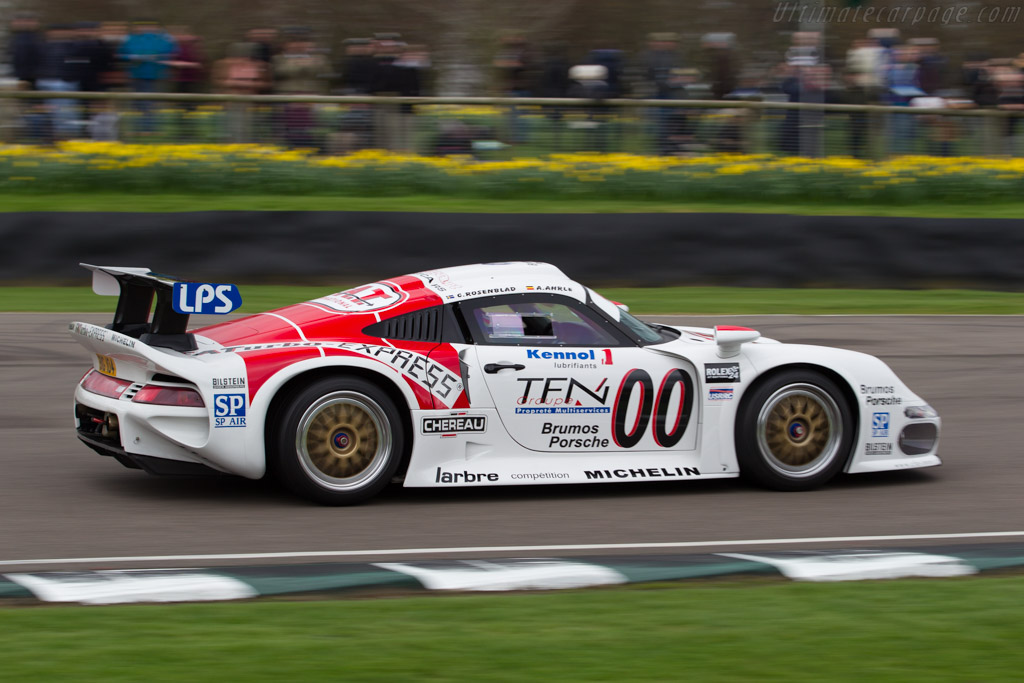 Porsche 911 GT1 - Chassis: 993-GT1-104 - Driver: Joe Twyman  - 2017 Goodwood Members' Meeting