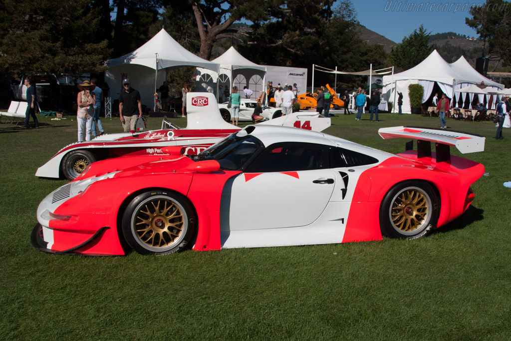 Porsche 911 GT1 - Chassis: 993-GT1-101   - 2014 The Quail, a Motorsports Gathering