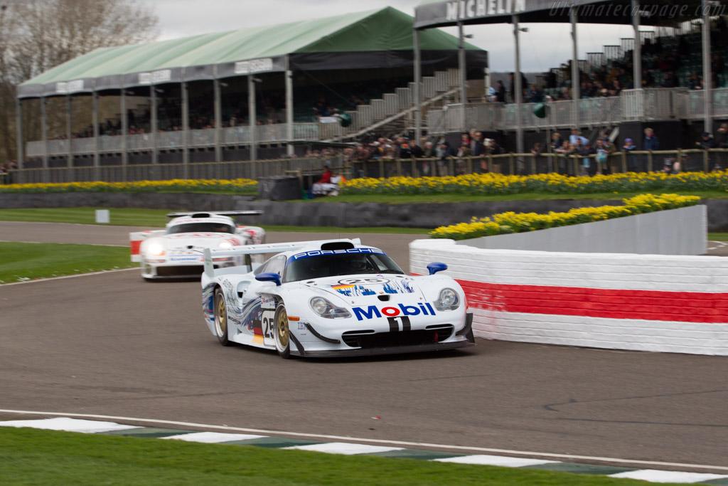 Porsche 911 GT1 Evolution - Chassis: 993-GT1-004   - 2017 Goodwood Members' Meeting