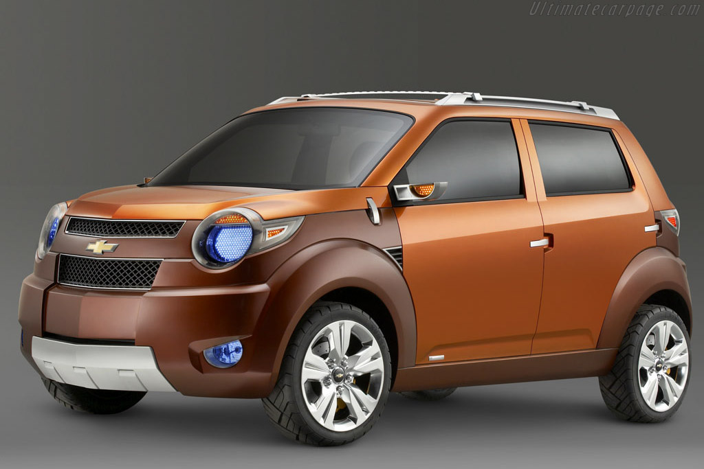 2007 Chevrolet Trax Concept Images Specifications And Information