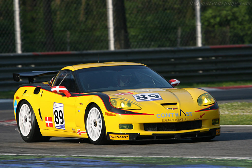 Chevrolet Corvette C6 Z06 GT2 - Chassis: 1G1YY26E265114144   - 2007 Le Mans Series Monza 1000 km